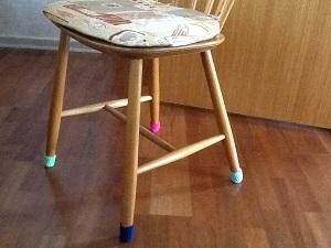 Hæklede stolesokker