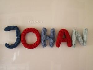 Hæklede bogstaver